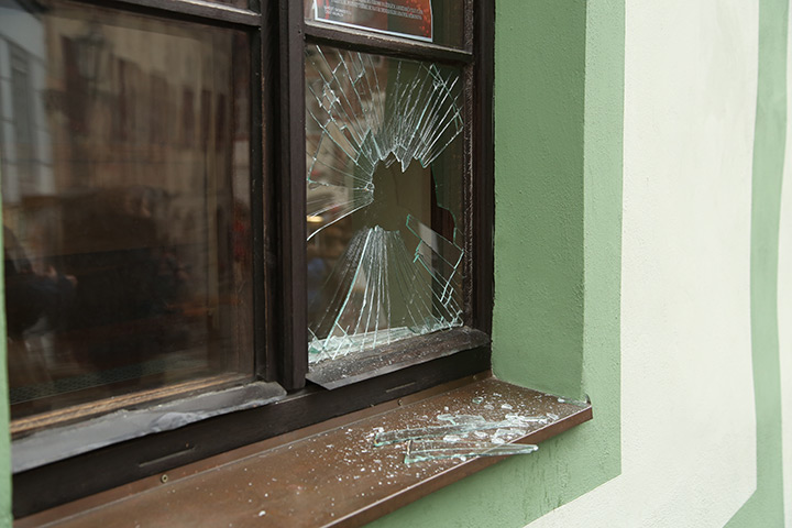 A2B Glass are able to board up broken windows while they are being repaired in Shepherds Bush.